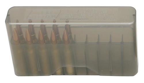 MTM Case Gard J-20 Slip-Top Boxes .270 to .450 Caliber Clear Smoke