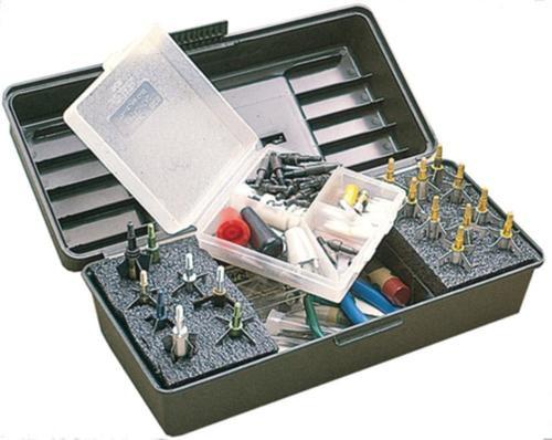 "mtml Magnum Broadhead Tackle Box Wild Camo 11.7x5x4"""