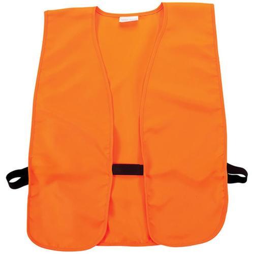 Allen Youth Safety Vest Velcro Closure Orange Quiet Acrylic