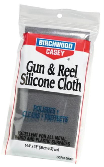 "Birchwood Casey Gun & Reel Silicone Cleaning Cloth 14.4""x 15"""