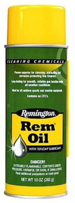 Remington, 10oz. Spray Can, Rem-Oil, Liquid, 10 oz., Lube