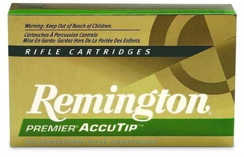 Remington Premier 204 Ruger AccuTip 40gr, 20Box/10Case