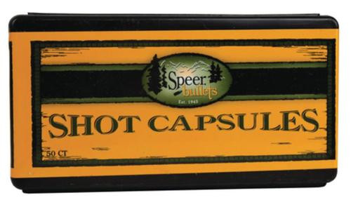 Speer Empty Shotshell Capsules .38 Special/.357 Magnum With Base Plugs 50 Per Box