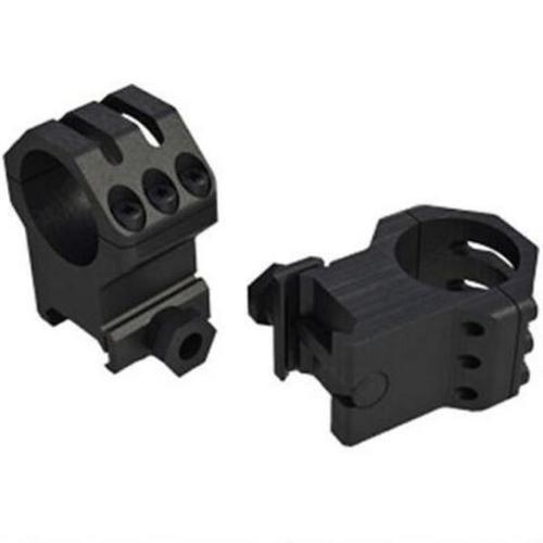 Weaver Tactical Six Hole Picatinny Rings, 34mm, XX-High, Matte Black