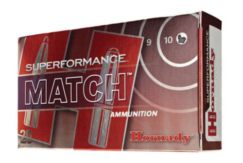 Hornady Superformance .308 Winchester 168 Grain A-Max Match