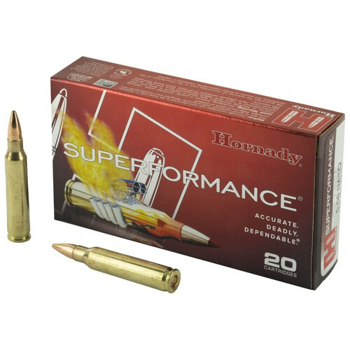 Hornady Superformance 5.56mm NATO 55gr GMX, 20rd Box