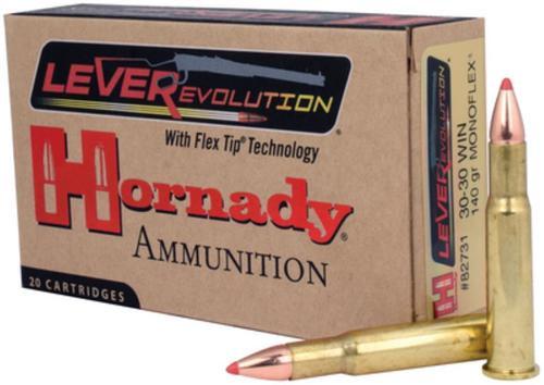 Hornady LEVERevolution .30-30 Winchester 140gr, Monoflex 20rd Box