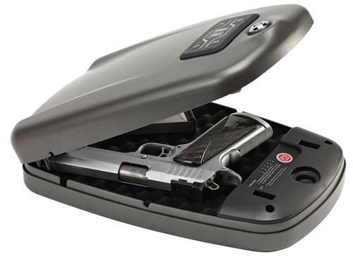 """Hornady RAPiD 2700KP XL Gun Safe, Black, 12.7"""" x 8.7"""" x 2.9"""""""