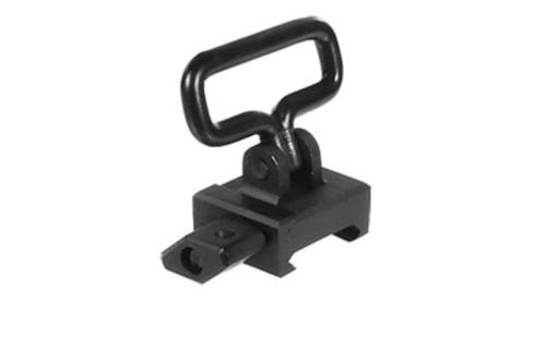 """Leapers, Inc. - UTG Sling Swivel, 1.25"""", Detachable, with Picatinny Mounting Base, Black"""