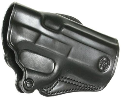 Galco Speed Paddle FN FNP X/9/40 9mm Leather Belt Lock, Black