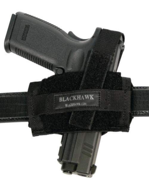 "Blackhawk Flat Belt Fits Belt Width up to 2"" Black Nylon"