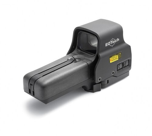 EOTech 518.A65 Holographic Weapon Sight, Black, 2 Dot Reticle, QD Mount, AR-15 Ready