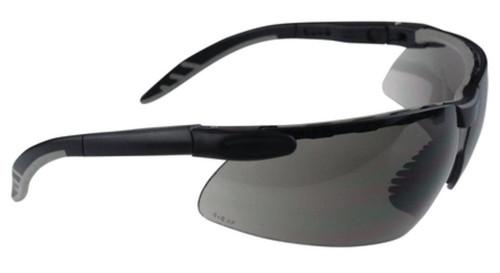 Radians Origin Shooting Glasses Smoke Lens Black Frame