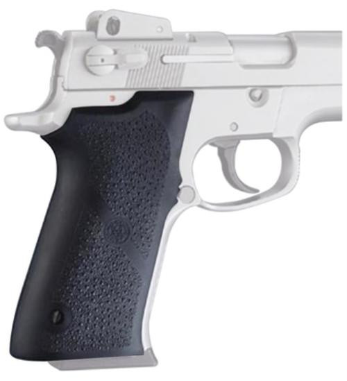Hogue Sig Sauer P220 Rubber Grip Panels Black