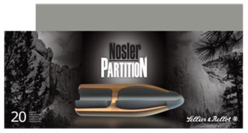 Sellier and Bellot 30-06 Springfield 180 Nosler Partition 20rd Box
