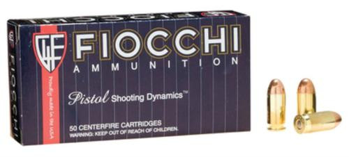 Fiocchi Shooting Dynamics 45 ACP 230gr, Full Metal Jacket 50rd Box