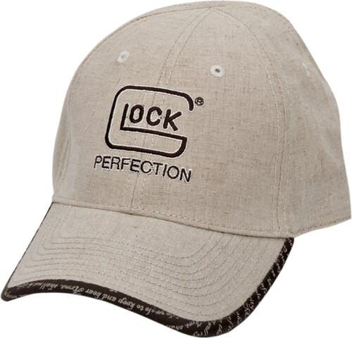 Glock Perfection Agency Hat Adjustable Velcro Closer Ripstop Nylon Khaki