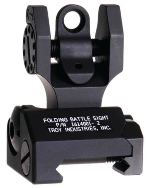 Troy BattleSight Rear Folding, Black