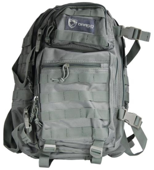 Drago Gear Scout 1-Day Backpack Seal Gray