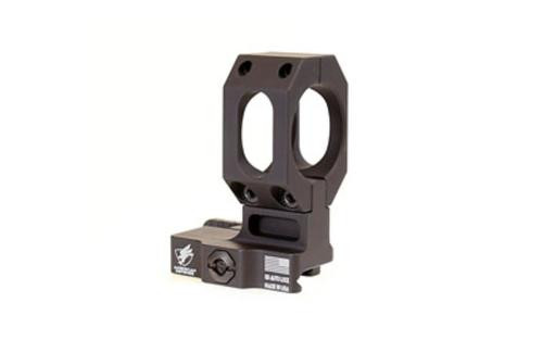 American Defense Mount, Fits Aimpoint, Picatinny, Quick Release, High Height, Black