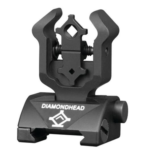 Diamondhead Gen2 Diamond Flip-Up Rear Combat SIght