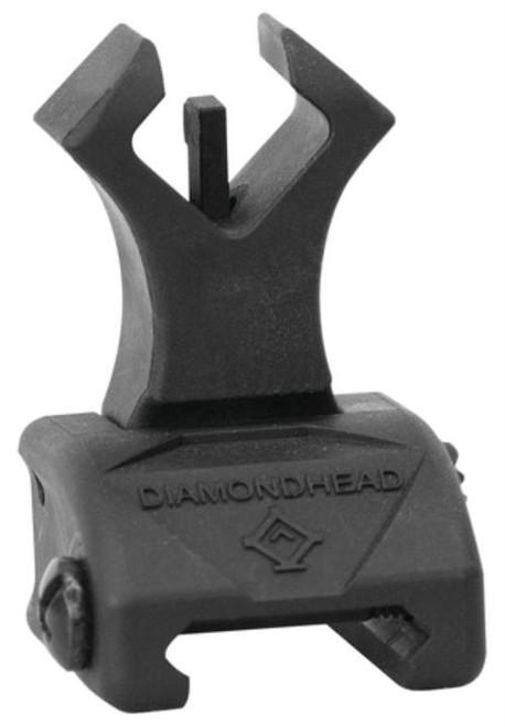 Diamondhead Diamond Polymer Flip Up Front Sight With NiteBrite Black