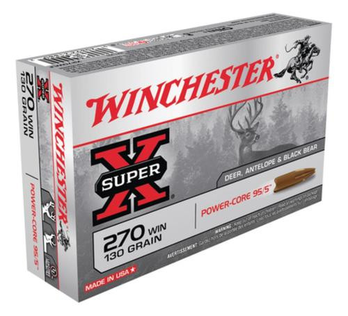 Winchester Super-X Power Core .270 Winchester 130gr, Power Core 95-5