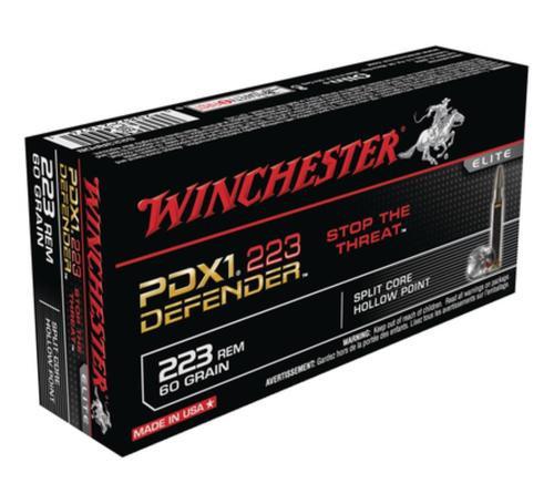 Winchester PDX1 Defender .223 Rem 60gr, Personal Defense