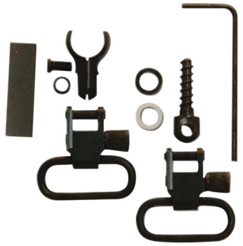 GrovTec US, Inc. GT Swivel Set For Tube Magazine .22's Two-Piece Band Attaches to Tube Magazines .420-.470 Inch Diameter 1 Inch Loop Black Oxide Finish