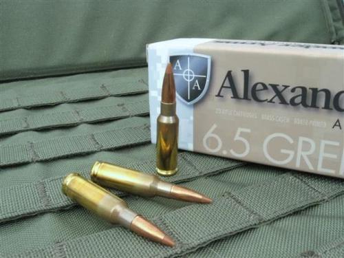 Alexander Arms 6.5 GREN 120g NOSLER BT 20rd Box