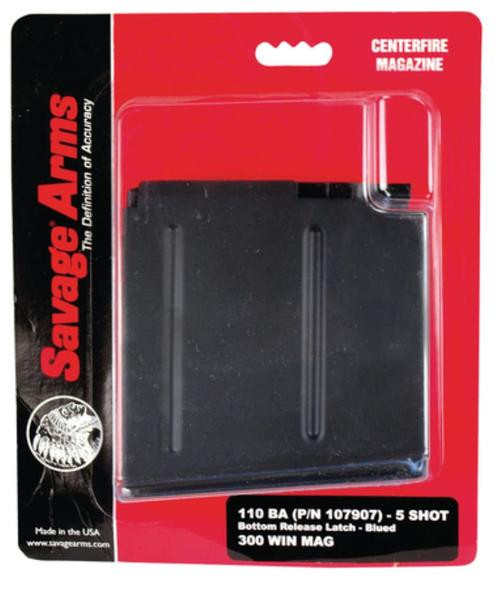 Savage 110 BA Box Magazine, 300 Win Mag, 6 Round