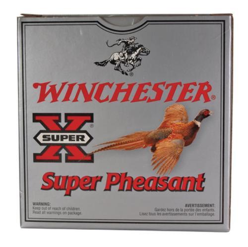 """Winchester Super Pheasant 12 ga 2.75"""" 1-3/8 oz 4 Shot 25Box"""