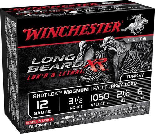 Winchester Long Beard XR 12 Ga, #6, Lead, 3 1-7/8 oz, 1050 fps, 10rd/Box