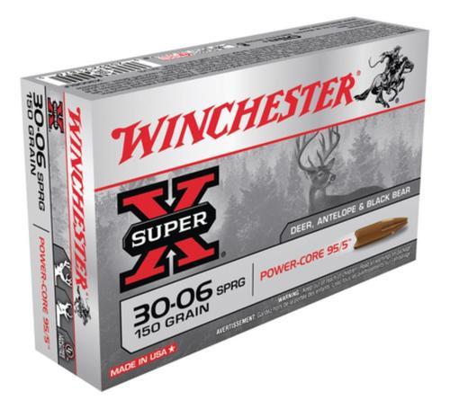 Winchester Super-X Power Core .30-06 Springfield 150gr, Power Core 95-5 20rd Box