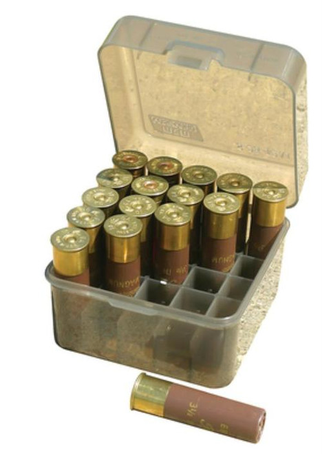 """MTM 3.5"""" Shotshell Case 25rd Poly Smoke"""