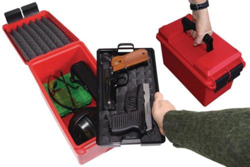 MTM Case Gard Handgun Concealed-Carry Case Red