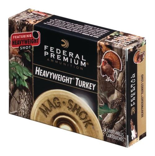 Federal Mag-Shok Heavyweight Turkey Load 10 Gauge 3.5 Inch 1300 FPS 2 Ounce 7 Shot 5 Per Box