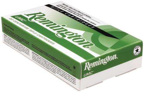 Remington UMC .223 Remington 62gr, Closed Tip Flat Base, 20rd Box