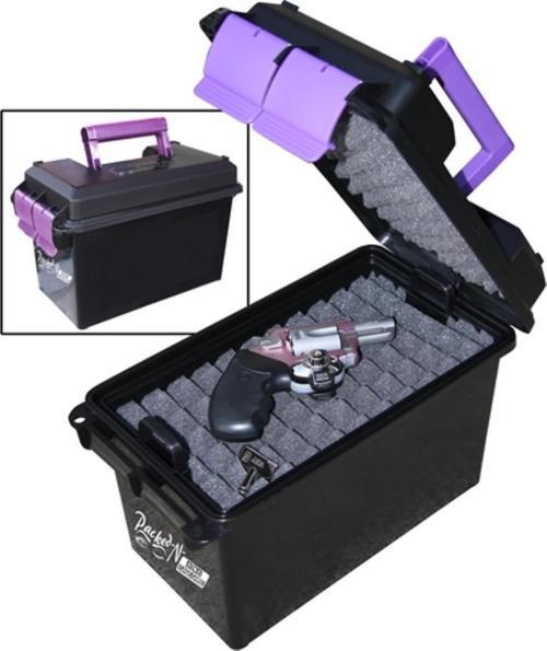 MTM Handgun Concealed-Carry Case Purple