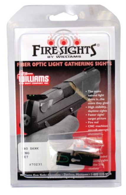 Williams Firesights FireSights Browning Buckmark Red, Green