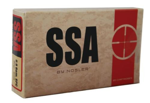 Nosler SSA Ammunition By Nosler 6.8mm SPC 90 Grain PPT Bonded