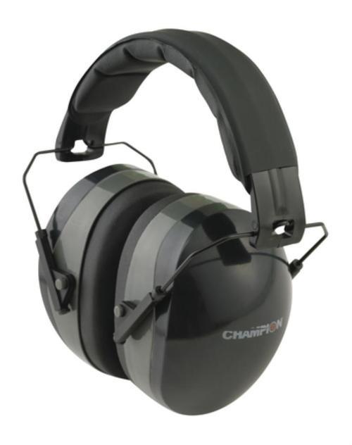 Champion Traps & Targets, Passive Headphone Earmuff, Black
