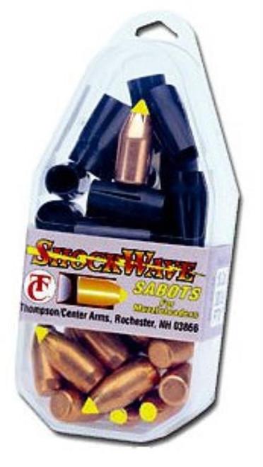 Thompson Center Shockwave .50 Black Powder Shockwave Sabots 300gr, 15/Pack