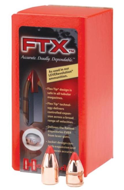 Hornady Flex Tip Expanding Rifle Bullet .338 Marlin Express .338 Diameter 200gr, 100/Box
