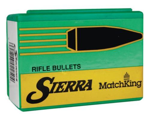 "Sierra Bullets Match Bullets .224 Diameter 77 Grain Hollow Point Boattail Requires A 1x7 to 1x8"" Twist Barrel 500 Per Box"