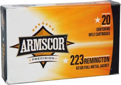 Armscor .223 62gr, FMJ, 20rd/Box