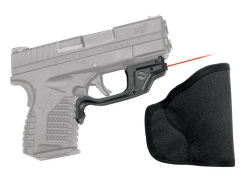 Crimson Trace Lasers Laserguard Series Lasergrip For Springfield Armory XDS With Holster