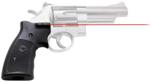 "Crimson Trace Lasergrips S&W K/L/N Frame SB 633nm .5""@50ft Black Poly"