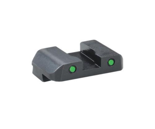 Ameriglo Pro Operator 2-Dot Rear Night Sight Green Tritium With Black Outlines Glock 17-39