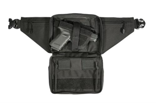 Blackhawk Concealed Weapon Fanny Pack With Holster and Retention Belt Loops Large Black
